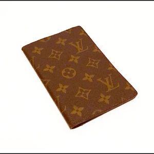 Authentic Vuitton Vintage Monogram Passport Holder